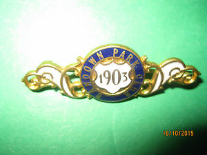 Sandown-Park-Horse-Racing-Members-Badge-1903-VGC