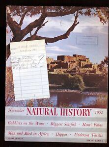 Walt-Disney-Studio-Claude-Coats-Library-Card-1952-Magazine-Taos-NM-Gila-Dwelling
