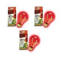 Zilla Night Red Incandescent Heat Bulb 100-watt (3 Pack) Free Shipping