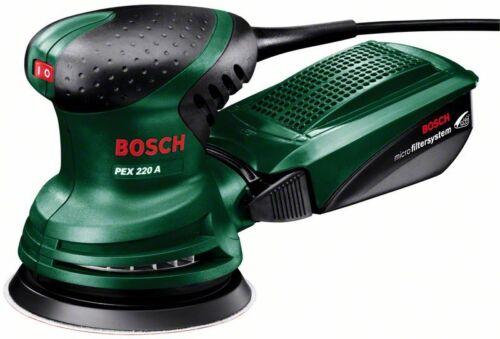 Bosch PEX220A Random Sander 0603378070 3165140327886 D2 savers