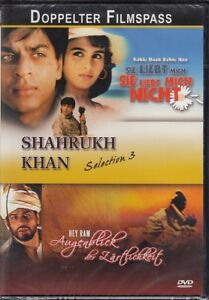 Shahrukh Khan Selection 3 2 Filme Dvdneuovp Ebay