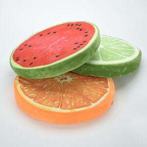 Frucht Sitzkissen Obst Kissen Stuhlkissen Rund Stuhl Kissen