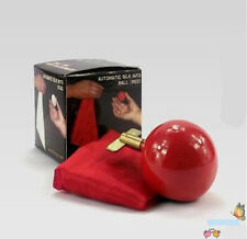 Automatic Silk into Ball (NEW) - White or Red, Stage Magic Trick/Props,Mentalism