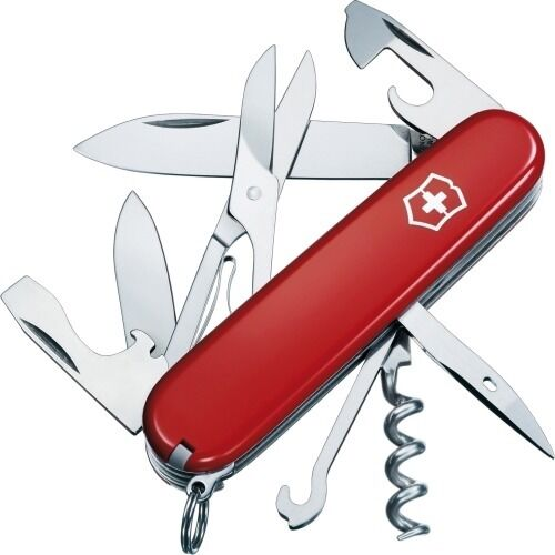 SWISS ARMY KNIFE, CLIMBER RED BOXED, VICTORINOX, MODEL 53381