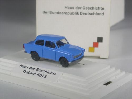 Wiking werbemodell trabant 601 s RDA casa de la historia azul en OVP Top