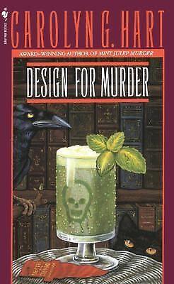 Design for Murder (Death on Demand Mysteries, No. 2), Carolyn G. Hart, Good Book