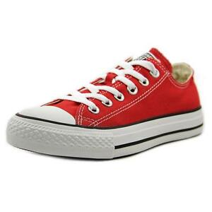 23813ca7faa7 Converse All Star Chuck Taylor Ox Shoes Trainers Red M9696c 9