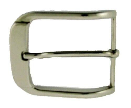 "Single Prong Belt Buckle 1 1//2/"" 40 mm Silver Metal Men Leather Strap Belt New"