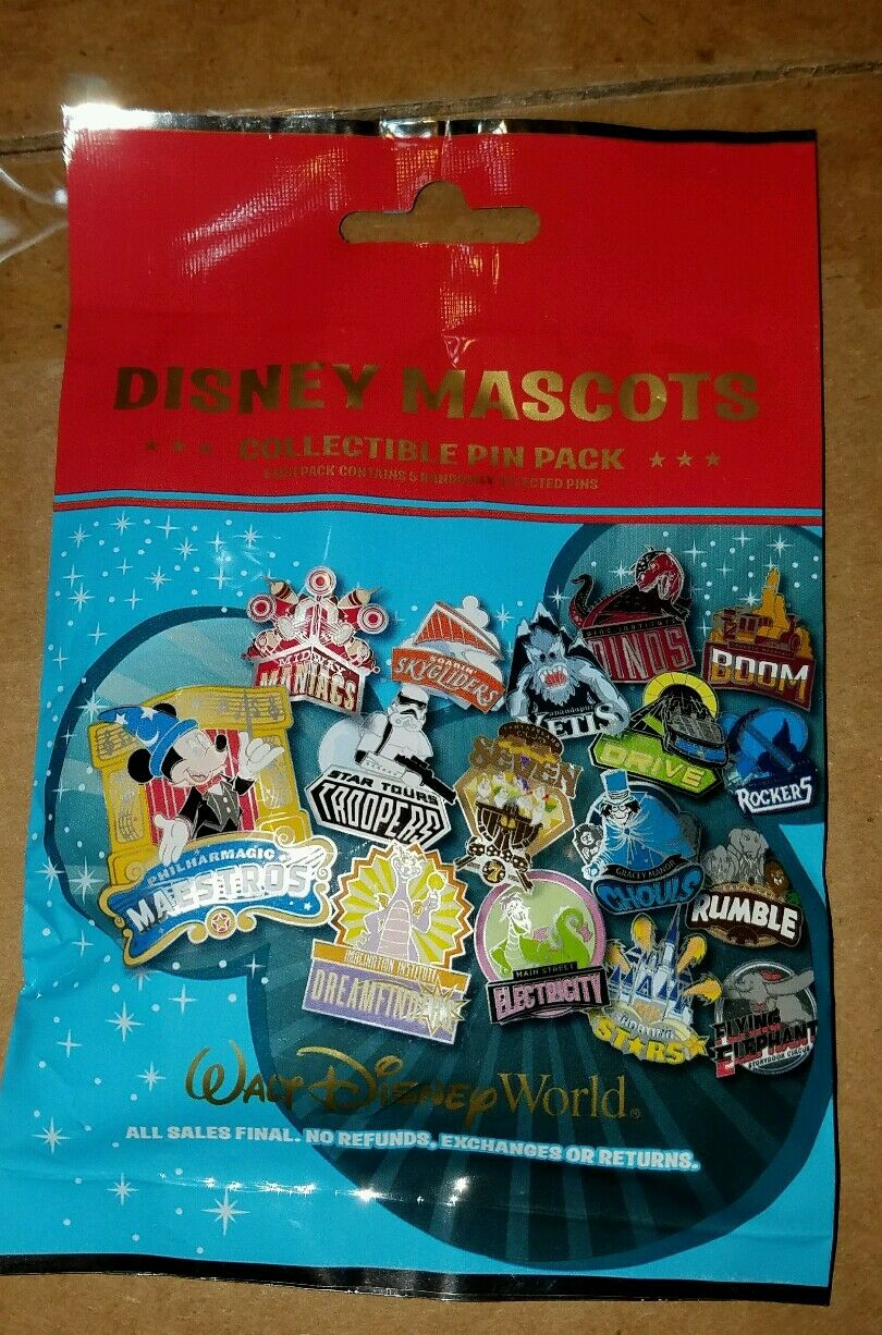 Disney Pin Mascots Mystery Pack 115851 Dino Institute Dinos