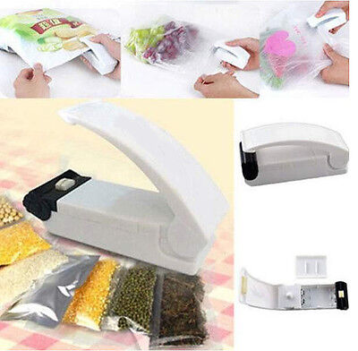 Portable Mini Handheld Bag Sealing Machine Heat Re-Sealer Instant Manual Seal
