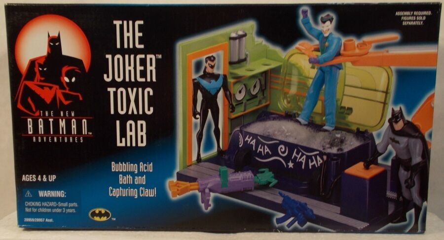 The New Batman Adventures Animated Series The Joker Toxic Lab Acid Bath (MISB)