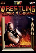 UWF Super Wrestling Super Champs 4 Orig DVD WWE  Bam Bam Bigelow Terry Gordy NEU