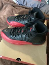 d348cf242646 item 5 Nike Air Jordan Retro XII 12 Bred Flu Game Black Varsity Red  130690-002 Size 11 -Nike Air Jordan Retro XII 12 Bred Flu Game Black  Varsity Red ...