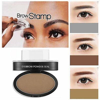 Eyebrow stamper makeup easy press and place in seconds