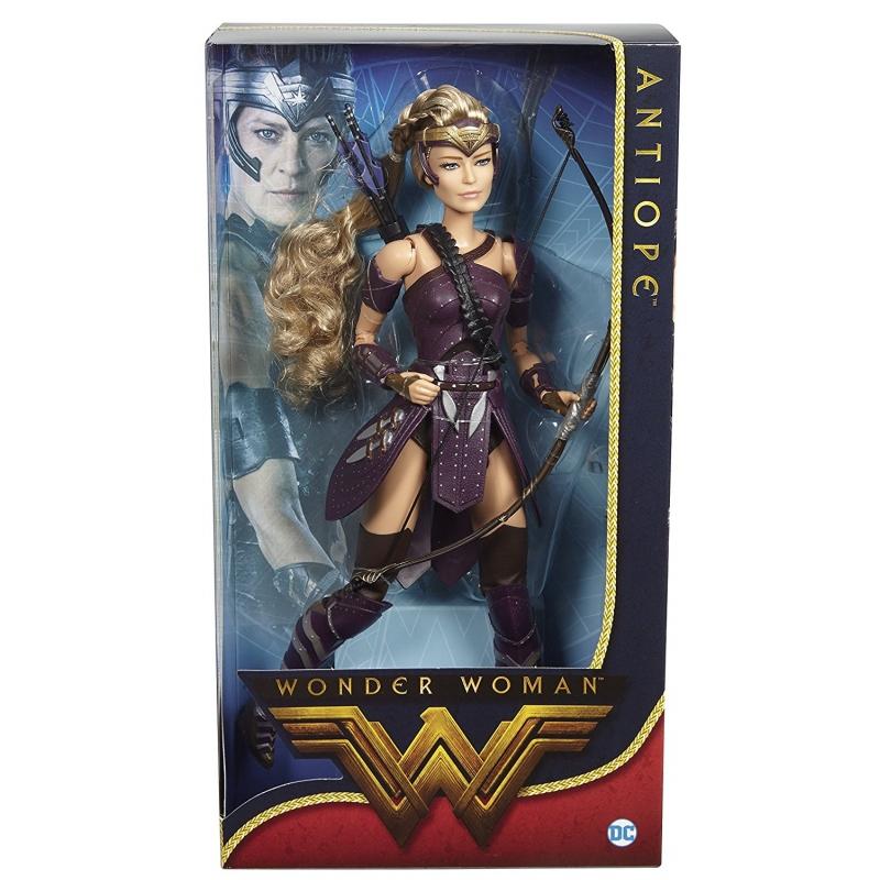 Barbie Wonder Woman Antiope schwarz schwarz schwarz Label DC Limitierte Edition 35d0ae
