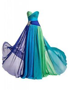 Empire-Abendkleid-Ballkleid-Gala-Kleid-Partykleid-Chiffon-TOP-sodort-BC570-38-40