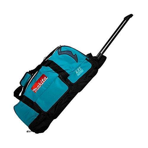 storage Heavy duty mobile rolling tool duffel bag on wheels with pockets case