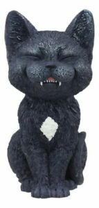 Teehee-Design-Collector-Black-Cat-Small-4-034-H-Figurine-Wild-Life-Funny-Animal