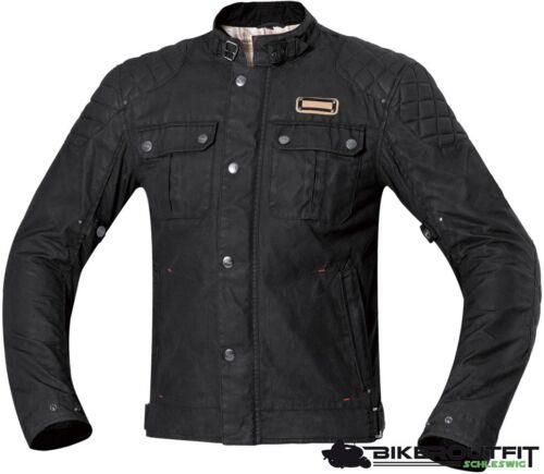 HELD 6245 Wachsjacke Motorradjacke SIXTY SIX schwarz wasserdicht Gr M