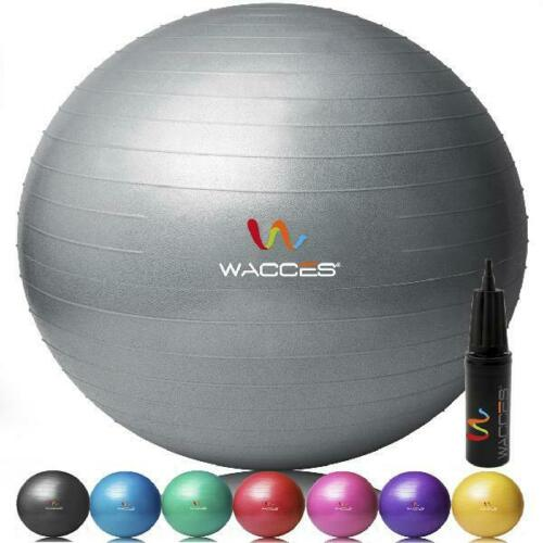 Home Fitness Exercise Yoga Ball for Gym Yoga Fitness Pilates Workout with Pump