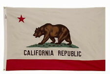 California State Flag 6x10 Made In The USA With Outdoor American Nylon