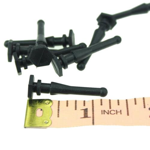 50pcs Lot Black Silicone Rubber Screw Fixter For 8cm 9cm 12cm Computer Case Fan