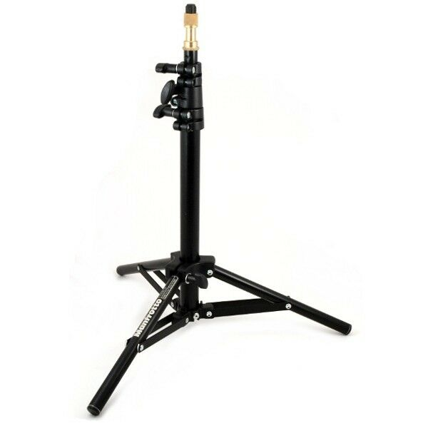 Manfrotto Mini Stand For Lights, Microphone Etc. Tripod Low Mini Pro Black