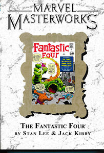 Marvel-Masterworks-2-Fantastic-Four-TPB-Collects-1-10-Direct-Cover-Variant-New