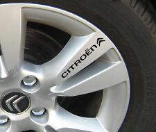 CITROEN Alloy Wheel Decals Stickers C3 C4 C5 C6 DS3 DS4 DS5 ALL OPTIONS