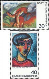 BRD-BR-Deutschland-798-799-kompl-Ausgabe-postfrisch-1974-Expressionismus