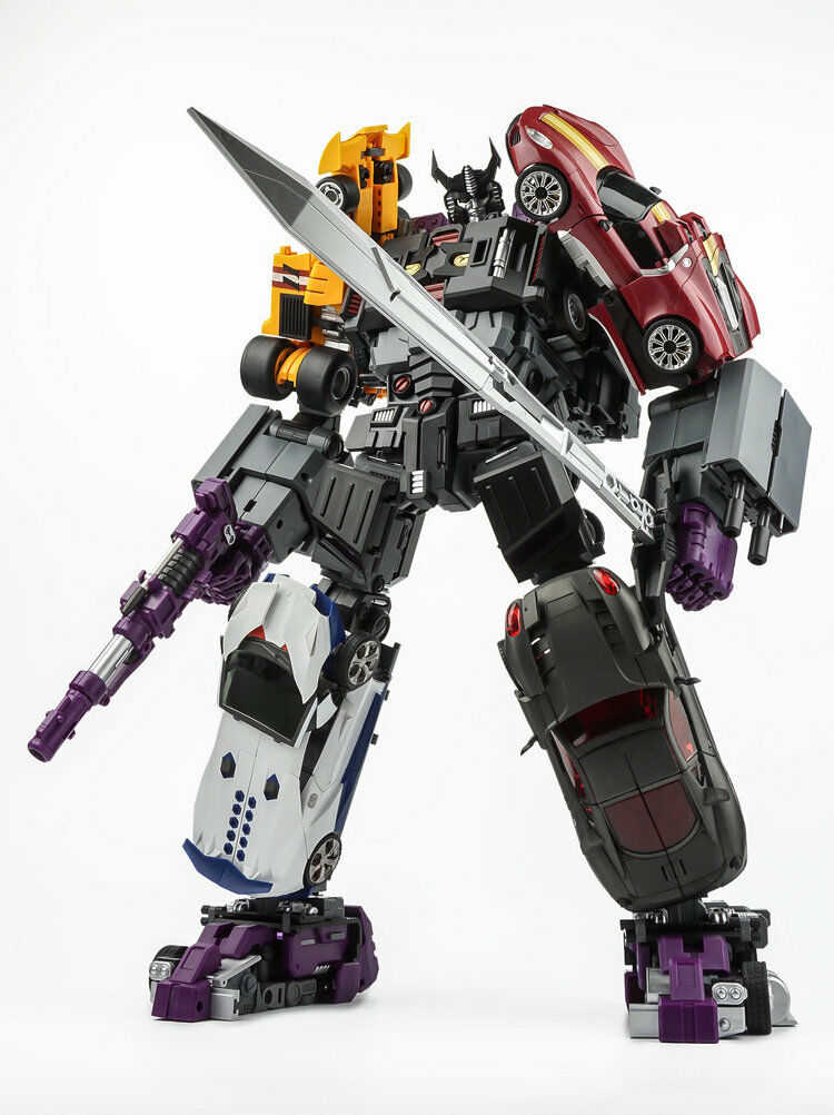 Transformers Giocattolo transformmission TFM HAVOC G1 Uomoasor COMPLETO 5 Set Figure NUOVO