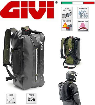 25 litri Linea Gravel-T GIVI GRT701 Zaino impermeabile