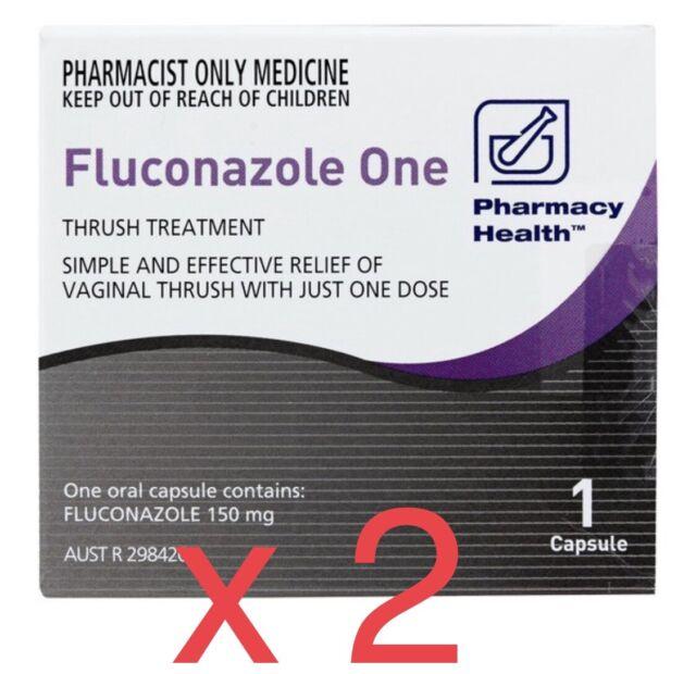 Femina V 1 Capsule Fluconazole 150mg Diflucan Canesoral Generic Thrush For Sale Online Ebay