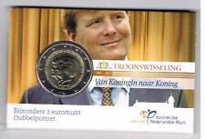 2 EURO COINCARD TROONWISSELING 2013