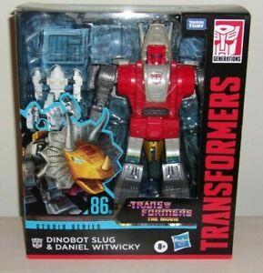 Transformers Studio Series SLUG & DANIEL Generations Movie 86 Leader Sealed