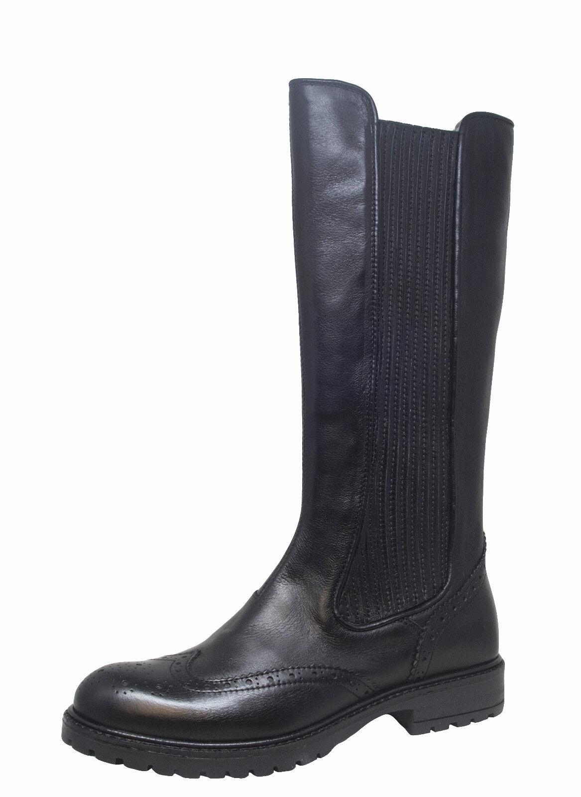Momino Momino Momino 3425m cuero botas botas altas cordero talla 35 - 41 nuevo  descuento de ventas en línea