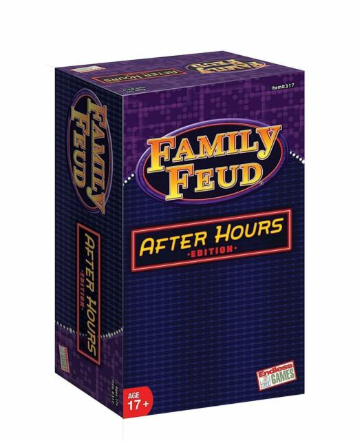 Family Feud After Hours 2018 Edition Age 17 Adult Tabletop Party Game