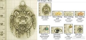 Bear-themed-decorative-fobs-various-designs-amp-watch-chain-options