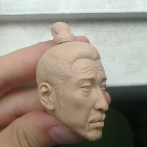 Blank Hot 1//6 Scale Brotherhood of Blades A security Head Sculpt Unpainted