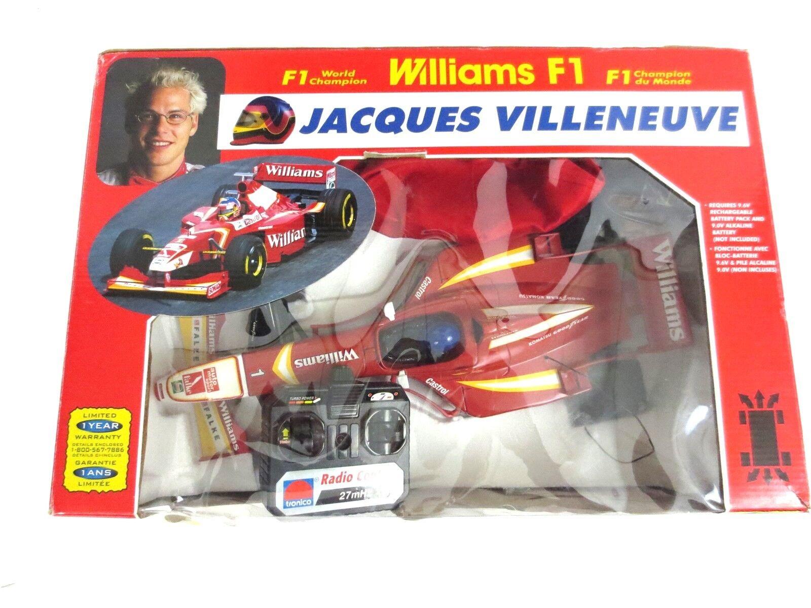 JACQUES VILLENEUVE F1 WILLIAMS RENAULT Majorette Radio Control Car Vintage