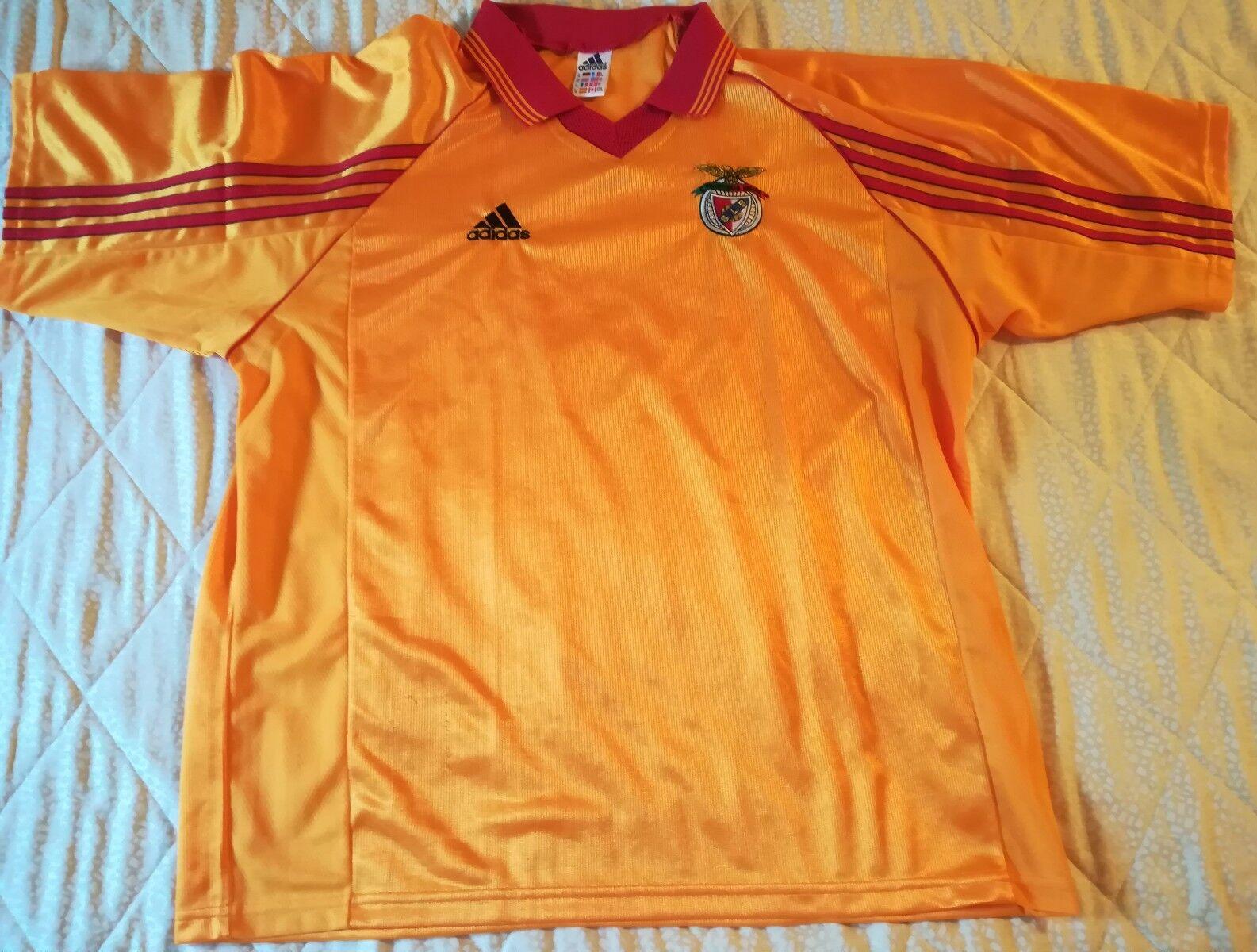 MAGLIA SHIRT CAMISETA VINTAGE OFFICIAL BENFICA FOOTBALL calcio maillot trikot