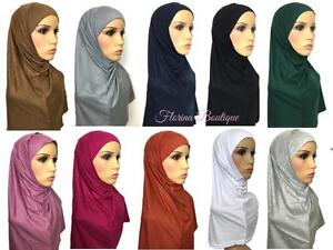 Two-piece-Hijab-Al-amira-Syrian-Hijab-sport-lovely-stretchy-jersey-material