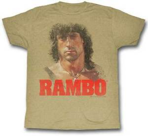 Rambo-First-Blood-Bust-Photo-Adult-T-Shirt-Great-Movie