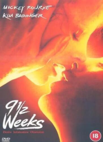 1 of 1 - 9.1/2 Weeks [1985] [DVD] By Mickey Rourke,Kim Basinger,Antony Rufus-Isaacs,Fr.