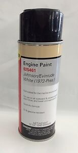 Image Is Loading Johnson Evinrude White Marine Paint Engine Outboard Moeller