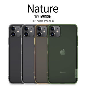 Nillkin-Nature-TPU-Clair-Silicone-Coque-Souple-Pour-Apple-iPhone-11-Housse