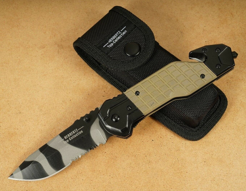 Herbertz Taschenmesser Klappmesser Einhandmesser Jagdmesser Outdoormesser H92  | Komfort