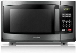 Toshiba EM925A5A-BS Microwave Oven 9 Cu. ft. 900W Stainless Steel - Black