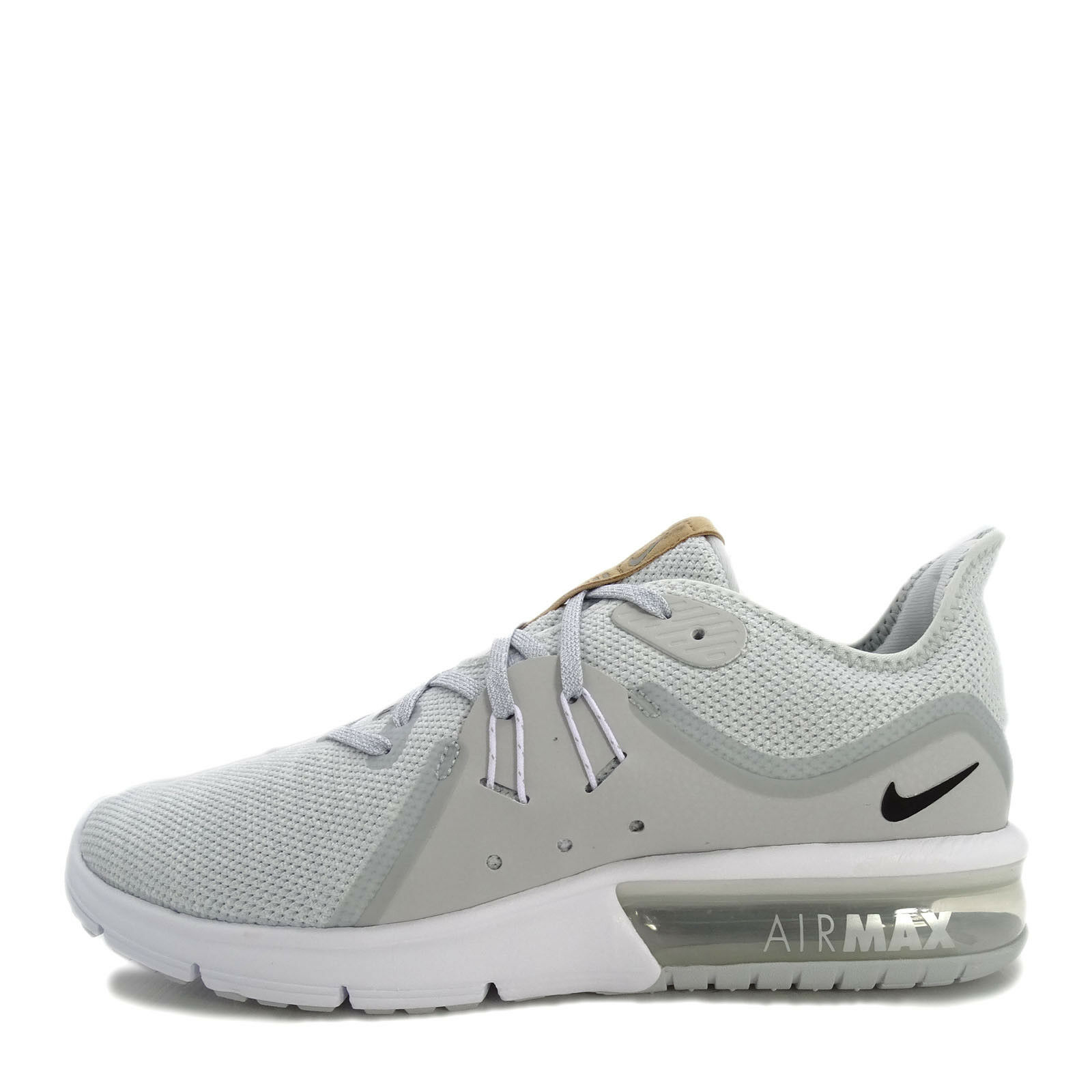 Nike Air Max Sequent 3 Price reduction Men Running Shoes Platinum/Black/White Cheap women's shoes women's shoes