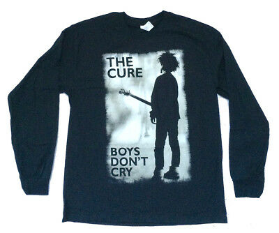 CURE T-Shirt Boy/'s Don/'t Cry WOMENS White New Officially Licensed S-2XL